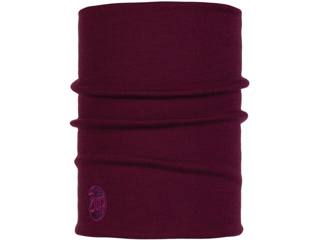 Buff Heavyweight Merino Wool Monikäyttöhuivi, purple raspberry